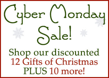 Cyber Monday 12 Gifts of Christmas