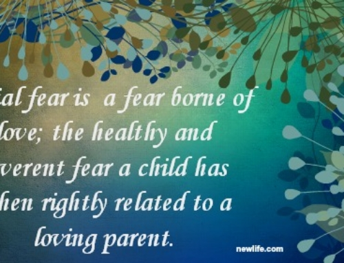 Fearing Without Being Afraid