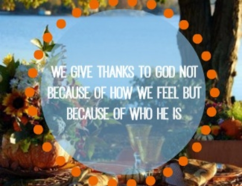 Giving Thanks – Day 24