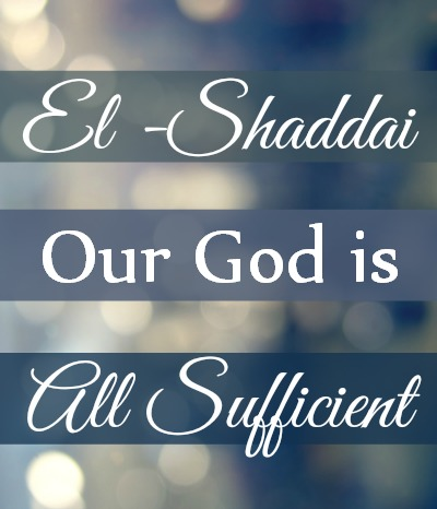 our-God-is-sufficient