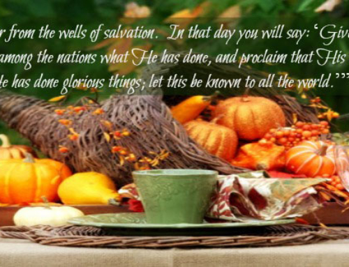 Giving Thanks – Day 7