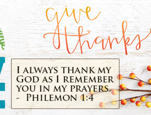Giving Thanks – Day 18