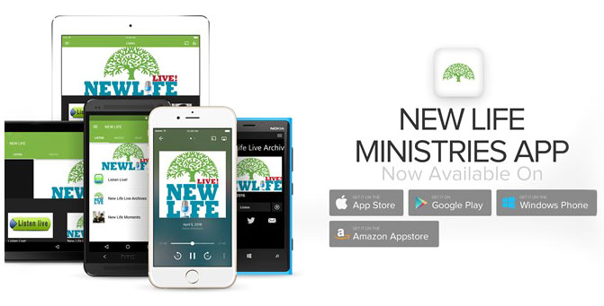 Get the New Life Ministries App!
