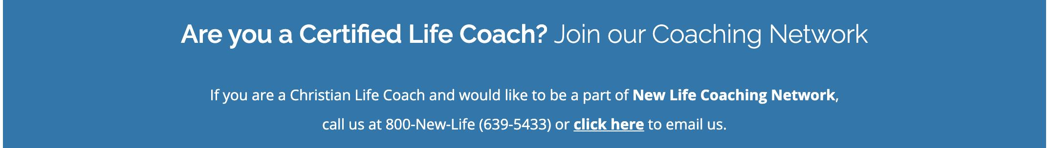 New Life Coaching Network