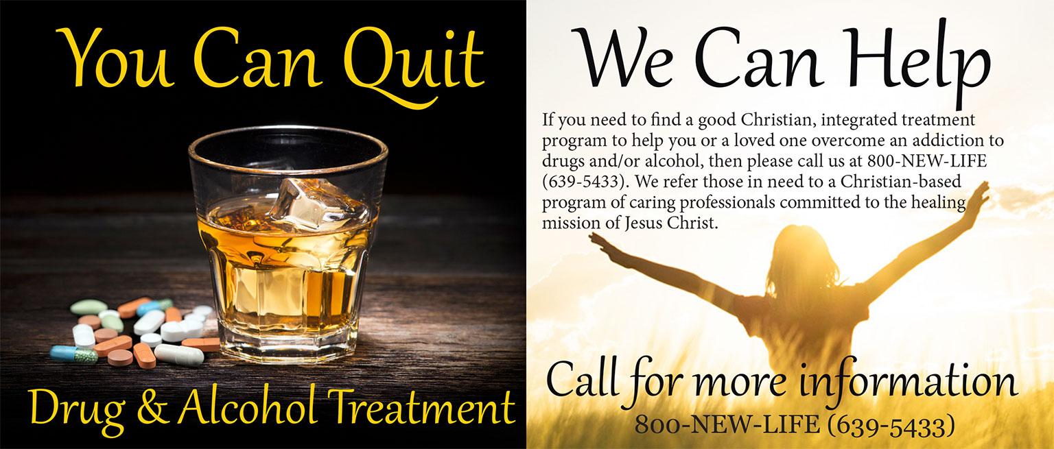 Seek professional treatment for addictions