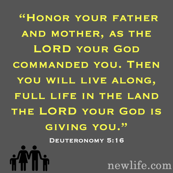 Honor Your Father and Mother...