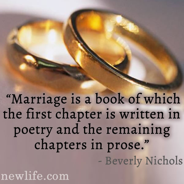 Marriage is..
